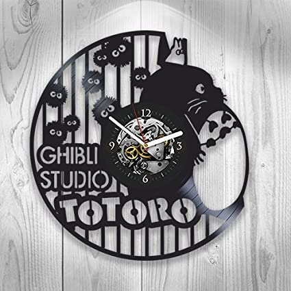 Studio Ghibli Clock My Neighbor Totoro Birthday Gift For Boy