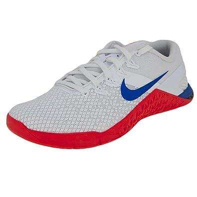 23d67db6079a7 Amazon.com | Nike Women's Metcon 4 XD White/Racer Blue/Flash Crimson ...