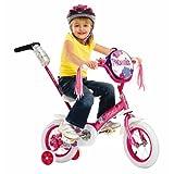 Schwinn Girls' Petunia 12-inch Steerable Bike