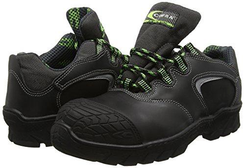 Cofra 17641-000.W40 Furka S3 HI CI HRO Chaussures de sécurité SRC Taille 40 Noir