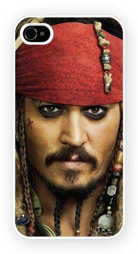 Johnny Depp Pirate Art Design, iPhone 6+ (PLUS) cas, Etui de téléphone mobile - encre brillant impression