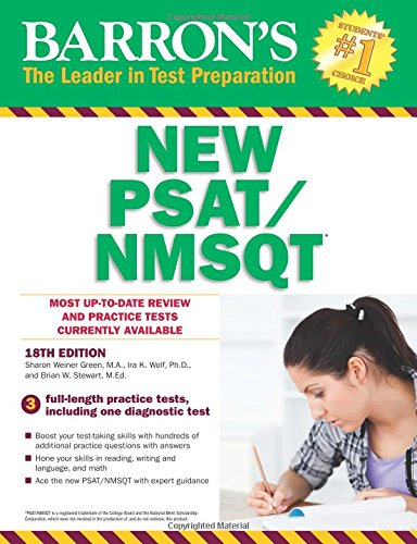 Barron's NEW PSAT/NMSQT, 18th Edition (Barron's PSAT/NMSQT)