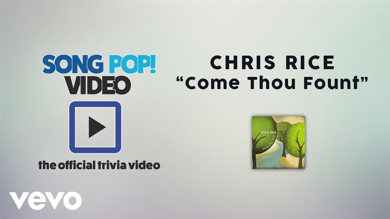 Chris Rice Come Thou Fount Living Room Sessions
