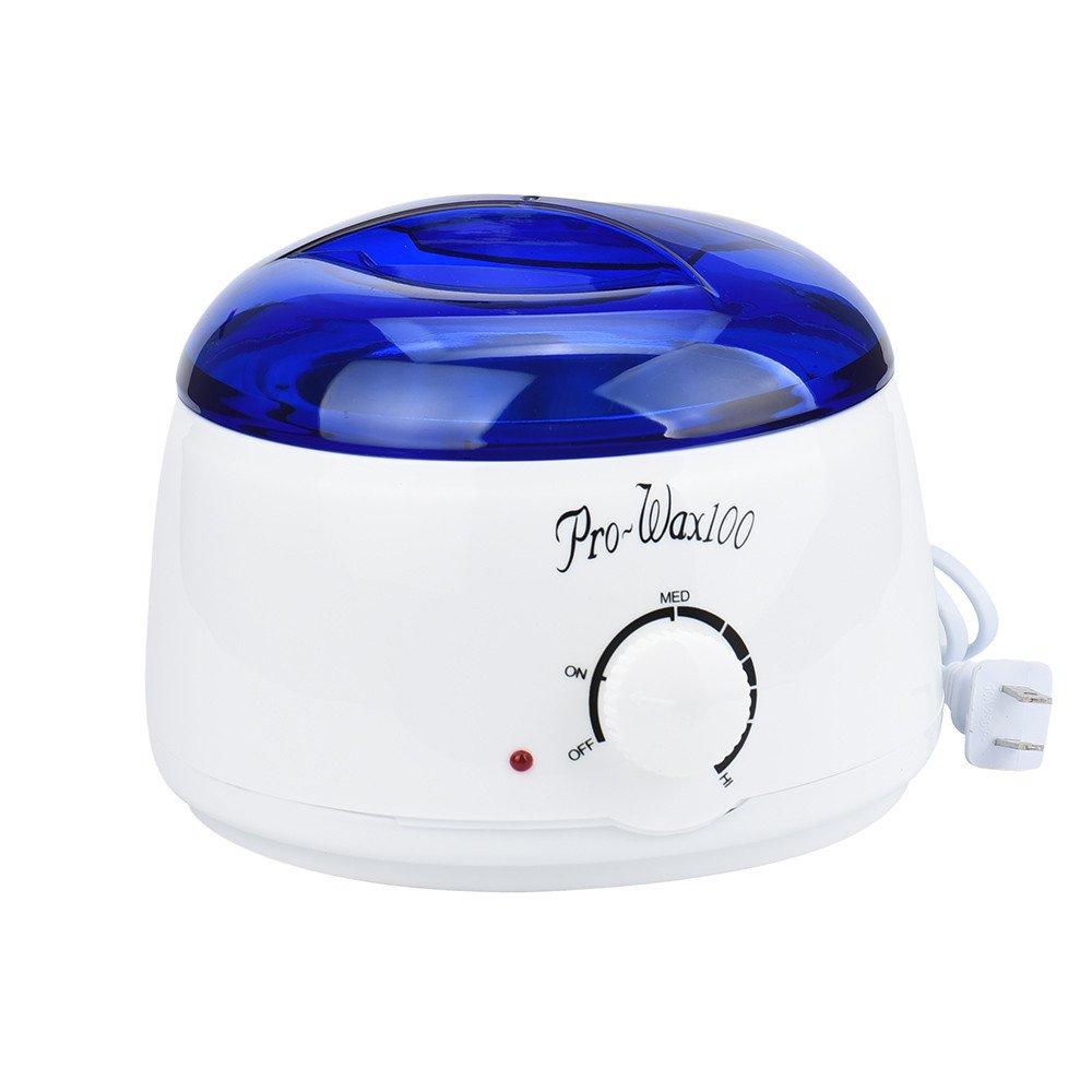 Cera calentador calentador, hunzed Depilación Cera caliente calentador calentador máquina Pot depilatoria depilación Bean pasando de incienso Set: ...