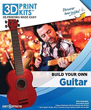 Legado Interactive 3D impresión Kits: Construye tu Propia Guitarra ...