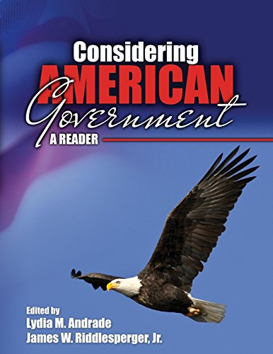 Considering American Government: A Reader