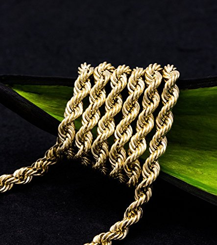 ASS 585or collier cordon 3,5mm 55cm Collier Femme Cordon Chaîne 14K