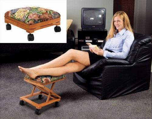 (Footrest Adjustable Fold-A-Way Tapestry)