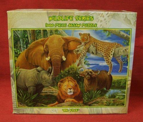 1000-piece Jigsaw Puzzle - Wildlife Series: BIG FIVE (safari animals).... by Wild for life