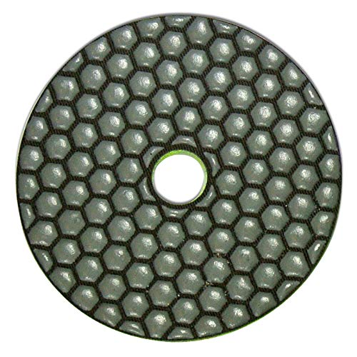 Granit /Ø 100 mm Marmor Profi Diamant Schleifpad Spar-Set Dia-Dry von EDW Glas K/örnungen 50 und 200 Engineered Stone und Keramik Beton F/ür den Trockenschliff von Naturstein