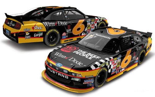 2013-trevor-bayne-6-winn-dixie-nascar-nationwide-series-1-64-kids-hardtop-diecast-collectable-lnc