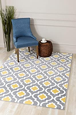 3028 Burgundy Moroccan Trellis Area Rug Modern Carpet Large New