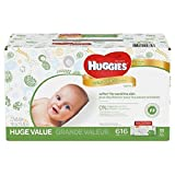 Huggies Natural Care Baby Wipes Case - 616 ct