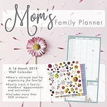 Mom's Family Planner 2019 Calendar