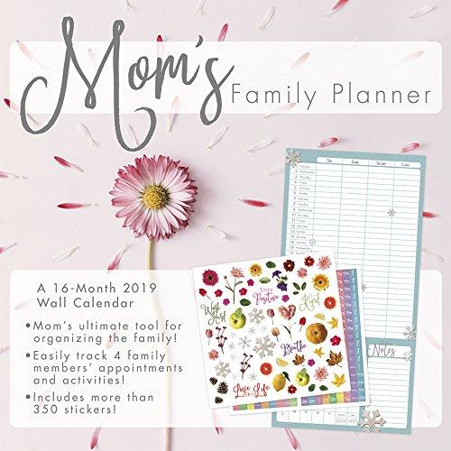2019 Mom's Family Planner Wall Calendar