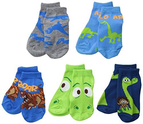 The Good Dinosaur Little Boys' The Good Dinosaur Toddler, Assorted, 5-6.5 (Pack of 5)