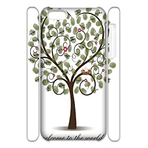 Love Tree Customized 3D Cover Case for Iphone 5C,custom phone case ygtg595428 by supermalls