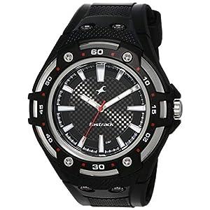 Fastrack New OTS Analog Black Dial Men's Watch -NK9332PP02