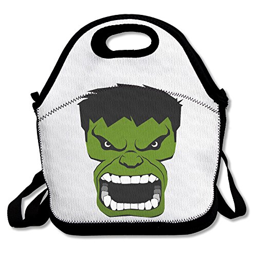 [Funny Designer Bag The Incredible Hulk Phiz Lunch Tote Bag.] (Incredibles Costumes Designer)