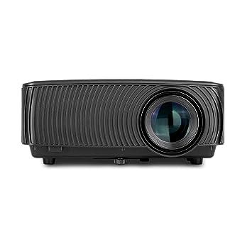 BESTSUGER Proyector de Video HD, Mini proyectores de Diapositivas ...