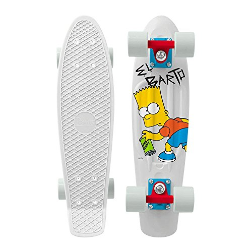 Penny 22 Inch Skateboard Glow In the Dark Plastic Simpsons M