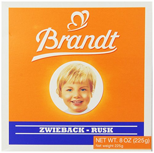 - Brandt Zwieback, 8-Ounce Box (Pack of 10)