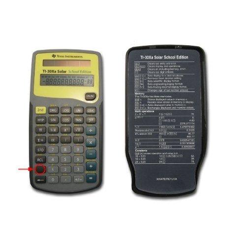 Texas Instruments Ti 30xa Solar School Edition Calculator Ht Recyclers