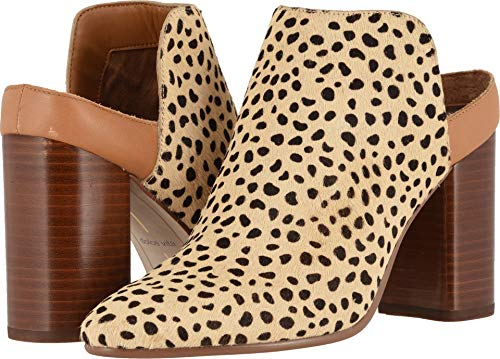 Dolce Vita Women's RENLY Mule, Leopard Calf Hair, 9.5 M US