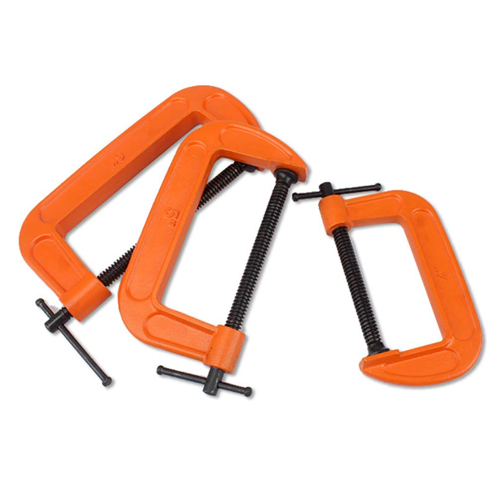 Lanlan Woodworking Clamp Adjustable Universal Clamps Multifunction G Type Quick Speed Woodworking Clamp 1 in