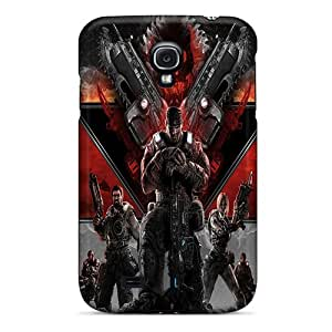 Bumper Hard Phone Cover For Samsung Galaxy S4 (Cie4597LyLA) Provide Private Custom High-definition Gears Of War 3 Pattern