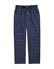 Classic plaid patterns soft Cotton pajama pants styled with drawstring tie at the waist. A soft, Cotton-covered elastic waistband with adjustable drawstring. Inside of waistband padded with a cotton makes your boys sufer comfort. Be sure your...
