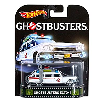 Hot Wheels, Retro Entertainment, Ghostbusters Ecto 1 Die-Cast Vehicle: Toys & Games