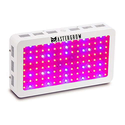 MasterGrow 1200W,Led Grow Light, Double Chips, Full Spectrum,Greenhouse Grow Tent Plants Vegetables and Flowering Growing(10wX120pcs) by MasterGrow