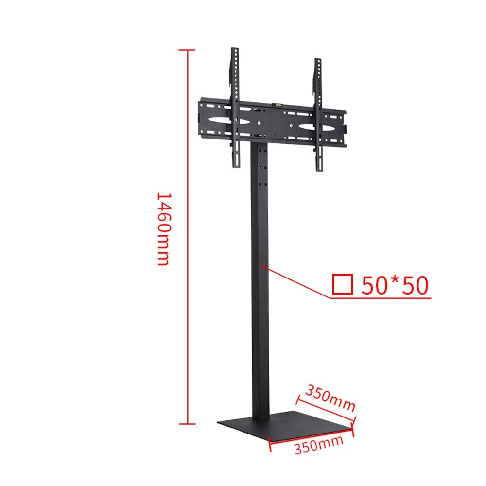 JL Universal LCD TV Rack Floor Stand Bracket Mobile Moving Punch-Free Display A+ (Color : B) by Monitor Stand