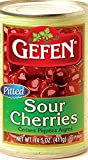 Gefen Pitted Sour Cherries Kosher For Passover 14.5 Oz. Pack Of 6.