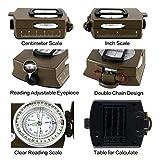 Compass Metal Pocket Multi-function Waterproof