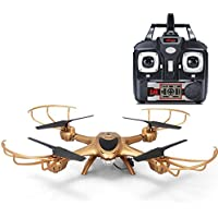 LandFox MJX X401H Wifi FPV 0.3MP HD Camera RC Drone w/ Dual Mode Altitude Hold RTF,Gold