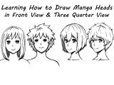 Learn How to Draw Manga Anime Head Portraits
