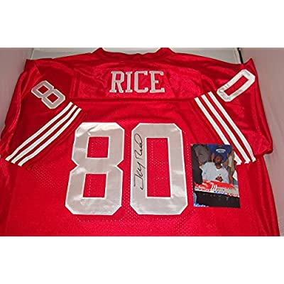 new concept a218d 38d41 Jerry Rice Signed San Francisco 49ers Jersey! Hall of Fame ...