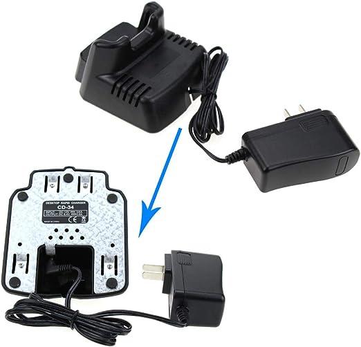 Cargador de bater/ías para aparatos de radio Yaesu//Vertex VX-210