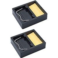 JaneYi - Soportes para soldador (2 unidades, rectangulares