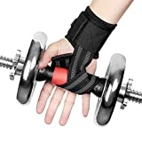 Kyпить FOXNOV Heavy Duty Lifting Straps,Weightlifting Hand Bar Wrist Support Hook Wraps, Wrist Protection Assist Grip Strength Weight Lifting Straps for Bodybuilding (Black) на Amazon.com