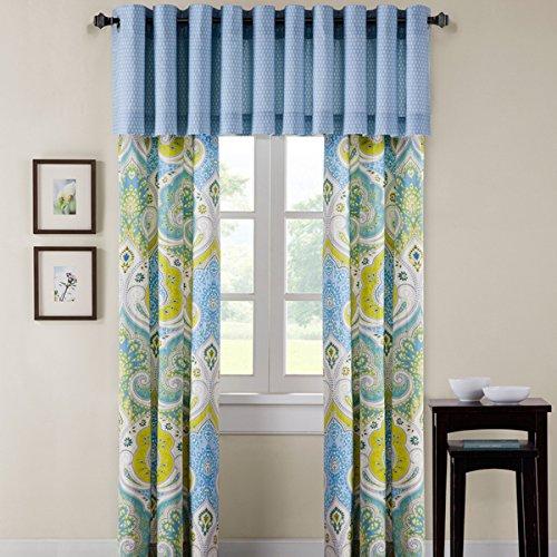 Echo Design Sardinia Multi Grommets Cotton Window Curtain Panel Pair - Echo Sardinia Curtains