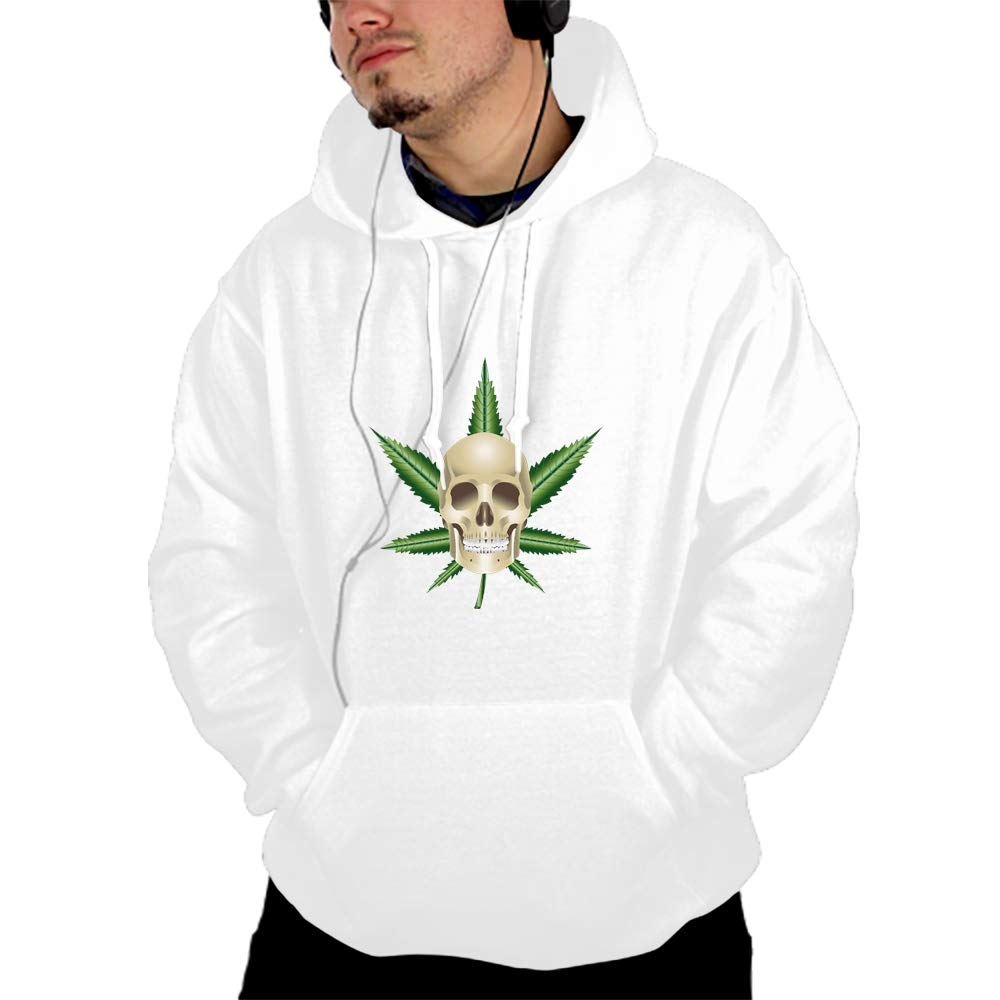 SHUIZHIQING Unisex 3D Printed Zombie Eating Pullover Long Sleeve Fleece Hooded Sweatshirts with Pockets