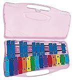 Angel G2-A4 27 Note Glockenspiel, Coloured Keys