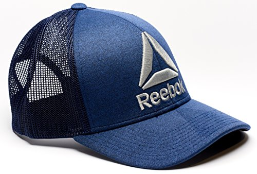 Reebok Delta Logo Meshback Snapback Trucker (Reebok Baseball Hat)