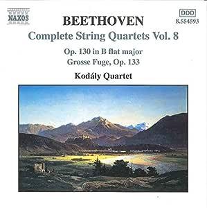 String Quartets 8 / Grosse Fuge