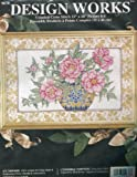 Design Works ''Oriental Peonies'' Counted Cross Stitch 12''x18'' Picture Kit