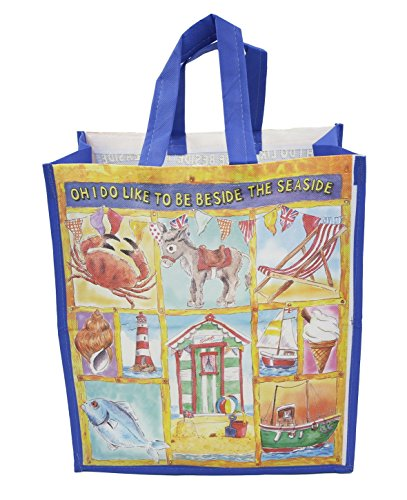 """Oh I do like to be beside the seaside"" Shopping Bag"