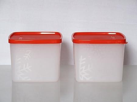 11282 TUPPERWARE Contenitore Pinguino da 450 ml bianco rosa 4